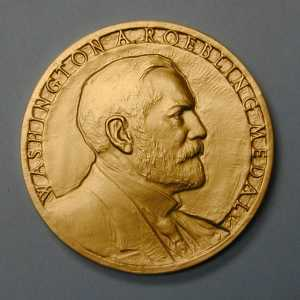 Front of Roebling Medal