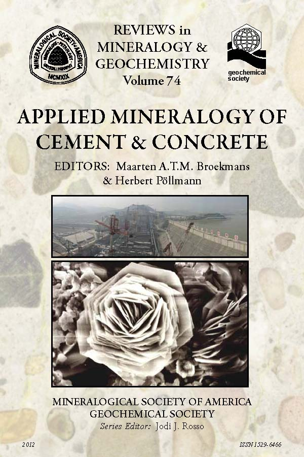 Mineralogical Society Of America Applied Mineralogy Of