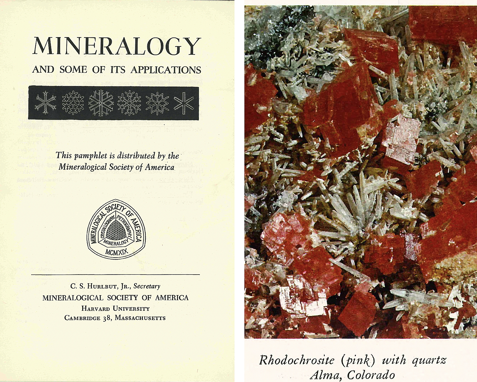 Cover of Mineralogy and Some of its Applications