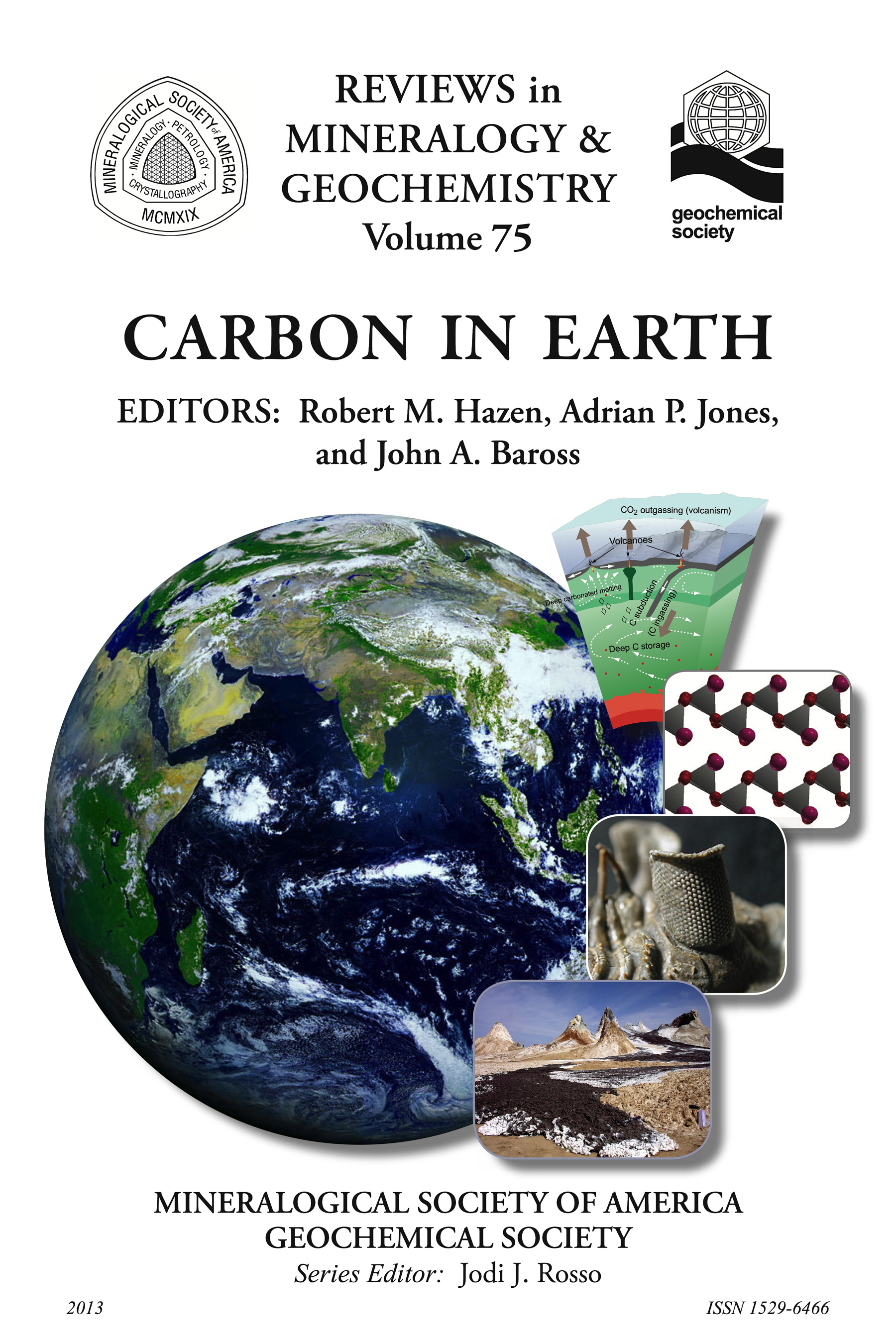 Cover of Carbon in Earth