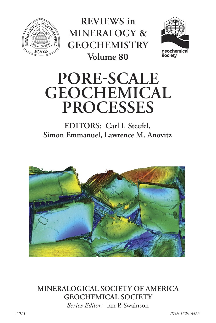 Cover of Pore-Scale Geochemical Processes
