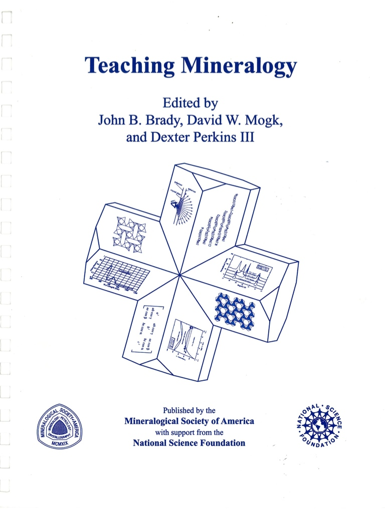 Cover of Guide to Teaching_Mineralogy
