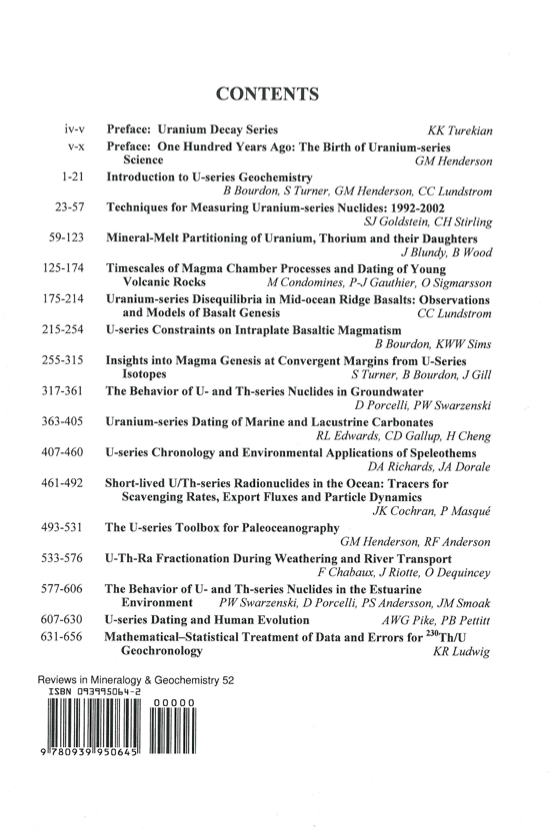 essays on geochemistry & the biosphere